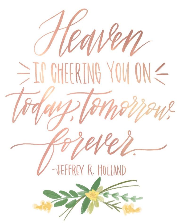 Heaven is Cheering